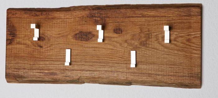 Woodline Garderobe Eiche massiv geölt | Woodline Garderobe ...