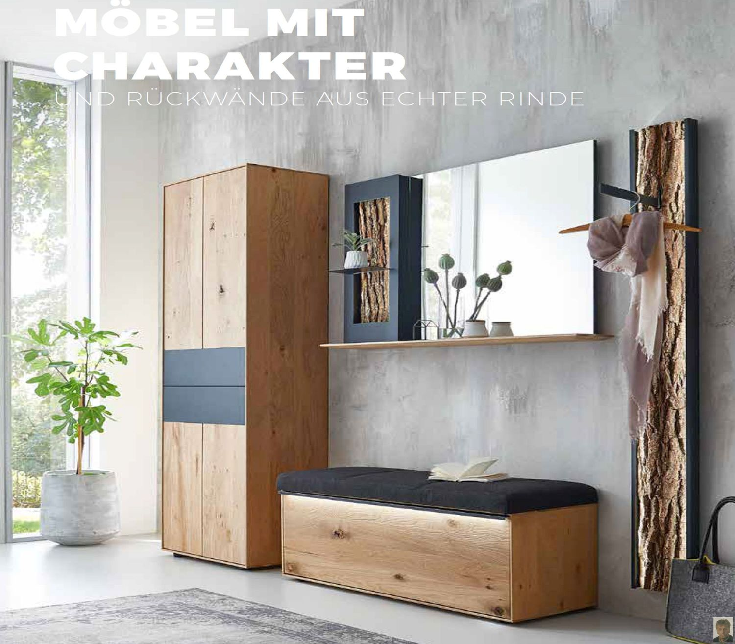 runa garderoben kerneiche natur massiv geb rstet hartmann garderoben massiv garderoben. Black Bedroom Furniture Sets. Home Design Ideas